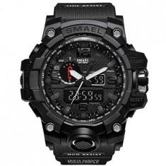 Ceas Barbatesc SMAEL, curea silicon, digital watch, CS832 foto