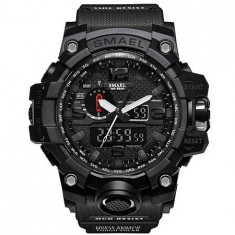 Ceas Barbatesc SMAEL, curea silicon, digital watch, CS832