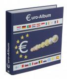 Album pentru monede cu 10 folii pentru seturi de monede euro - Designo-Euro, SAFE