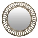 Oglinda de perete rotunda Luxury 76 cm x 5 cm x 76 cm
