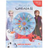Disney. Regatul de gheață II. Carte de colorat (conține 12 creioane cerate)