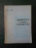 ION CLIMER, MARCEL SARAS - GRAMATICA LIMBII FRANCEZA (1961, uzata)