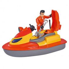 Set de joaca Pompierul Sam - Jet Sky cu figurina