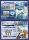 DB1 Fauna Arctica Burkina Faso Ursi Albi Reni Foci Vulpe polara MS + SS MNH