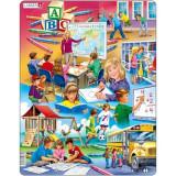 Cumpara ieftin Puzzle La Scoala, 33 Piese Larsen LRUS34 B39016761