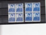 1940  LP 142  MIHAI  UZUALE  SUPRATAXA  EROARE DANTELURA+EROARE CULOARE  BLOCURI