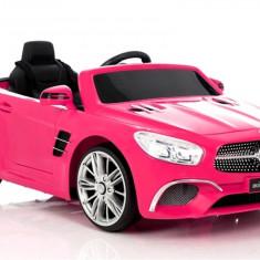 Masinuta electrica Mercedes-Benz SL400, roz