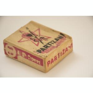 Tigarete Partizani - sigilat in pachetul original - din anii '40