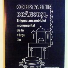 CONSTANTIN BRANCUSI , ENIGMA ANSAMBLULUI MONUMENTAL DE LA TARGU JIU de STEFAN SGANDAR , CONSTANTIN CRACEA , 2003