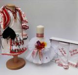 Cumpara ieftin Set Botez Traditional Marina 3 - 3 piese Botez Traditional : costumas , trusou si lumanare