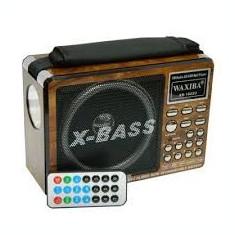 Radio MP3 portabil Waxiba XB-1022U Redare MP3(USB/SD)