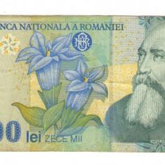 Bancnota Romania 10000 lei - 1999  / A006