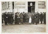B1950 Asociatia profesorilor secundari manifestatie antirevizionista Oradea 1933