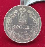 Moneda din argint 250 Lei 1941 Regele Mihai - Nihil Sine Deo
