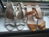 Vând sandale dama din piele