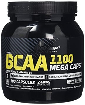 BCAA Mega Caps 300 Capsule foto