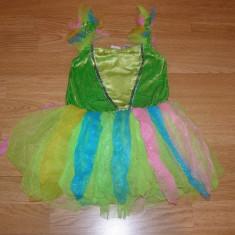 costum carnaval serbare zana fluture pentru copii de 3-4 ani