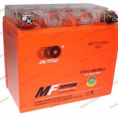 Baterie gel Scuter, Atv 9ah 12v inalta, China