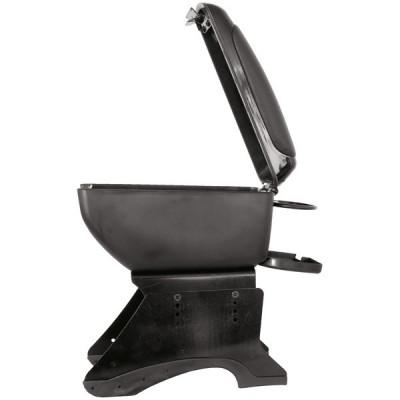 Cotiera auto universala Carpoint Compact neagra cu suport de pahare foto
