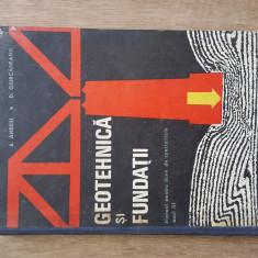 GEOTEHNICA SI FUNDATII - S. ANDREI, 1971