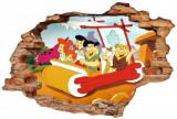Cumpara ieftin Sticker Wall Crack Flintstone 2 - 120 x 80 cm