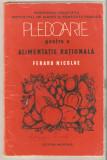 Pledoarie pentru o alimentatie rationala - Nicolae Feraru