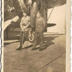 Fotografie avion romanesc 1941 Campia Turzii al doilea razboi mondial