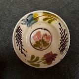 21 Farfurie veche din ceramica pentru agatat pe perete blid vechi lut 18 cm