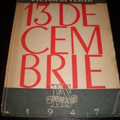 Victor Eftimiu - 13 Decembrie , si alte poeme- 1947