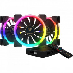 Ventilator carcasa Gamdias Aeolus M1 1403R 3 Fan Pack RGB