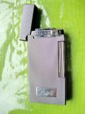 B491-I-Bricheta Papa Sarome Japan nefunctionala metal argintiu deosebit design.