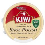 Cumpara ieftin Crema Solida KIWI Pentru Curatarea Incaltamintei, Shoe Polish, Incolora, 50 ml, Crema Solida Pantofi, Crema Incaltaminte Incolora, Crema Solida Incalt