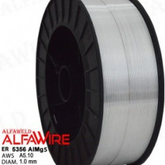 Sarma sudura AlMg5 , rola de 2 kg diametrul 1,0 mm