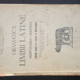 Gramatica Limbii Latine Morfologia si Sintaxa pentru cls. V - Ed. II. I.I. Bujor