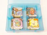 Cartonase Pokemon magnetice - 77 bucati + cutie depozitare