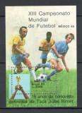 Brazilia.1985 C.M. de fotbal MEXIC-Bl.  DD.370