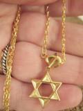 Lant +medalion   inox placat = 30 ron