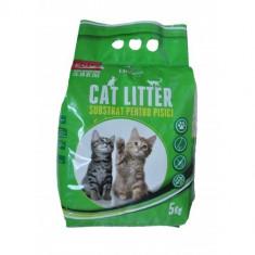 Asternut pentru pisici - Zeolit - CAT LITTER - 5 kg