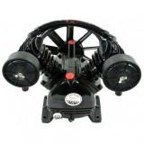 Cap compresor 2,2 KW -2 pistoane -250L/min kd1402-KRAFTPROFESIONAL