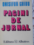 PAGINI DE JURNAL (1935-1963) VOL.I-ONISIFOR GHIBU