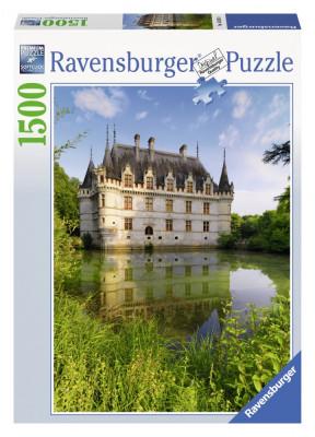 Puzzle Castelul Azay Le Rideau 1500 Piese foto