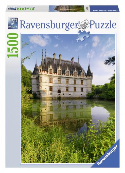 Puzzle Castelul Azay Le Rideau 1500 Piese