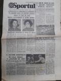 Ziarul Sportul din 20 martie 1978