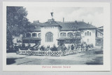 EXPOZITIA NATIONALA 1906 , PAVILIONUL DOMENIULUI COROANEI , CARTE POSTALA ILUSTRATA , NECIRCULATA , 1906