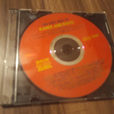 CD VARIOUS THE VERY BEST OF DANCE AND DISCO ORIGINAL