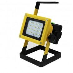 Proiector portabil reincarcabil LED XML L2 30W cu acumulatori