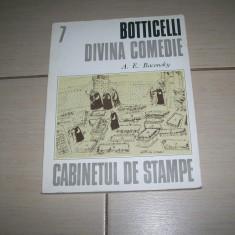 BOTTICELLI DIVINA COMEDIE A.E. BACONSKY
