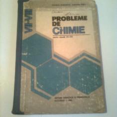 PROBLEME DE CHIMIE ( pentru clasele VII- VIII )  ~ CORNELIA GHEORGHIU