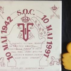 Placa festiva faianta Scoala de Ofiteri de Calarie 10 Mai 1942 1997 Targoviste