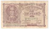 Belgia 1 Franc 1916 F